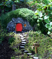 Hobbitat in Hobbitat at Fairy Woodland