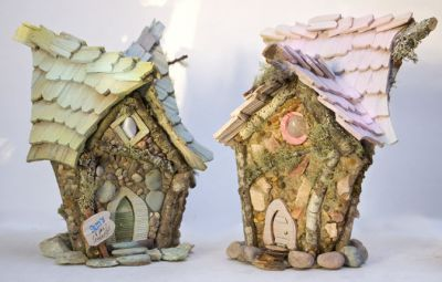 Fairy Godmother House in More Fairy Habitats at Fairy Woodland