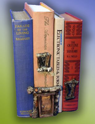 Book House for Literary Fairies in Gift ideas at Fairy Woodland