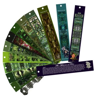 Faces of Faerie Bookmarks in Gift ideas at Fairy Woodland