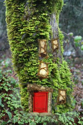Woodsey Fairy Doors & Windows in Movies, Calendars & more at Fairy Woodland