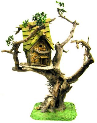 Fairy Tree House in Special Orders at Fairy Woodland