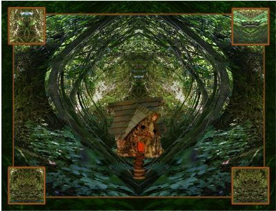 Mother Earth in Mystical Images at Fairy Woodland