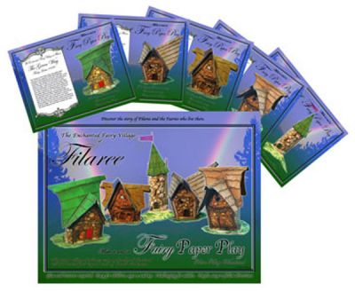 Paper Play Village set in Movies, Calendars & more at Fairy Woodland