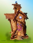 Build a special Fairy House for me!