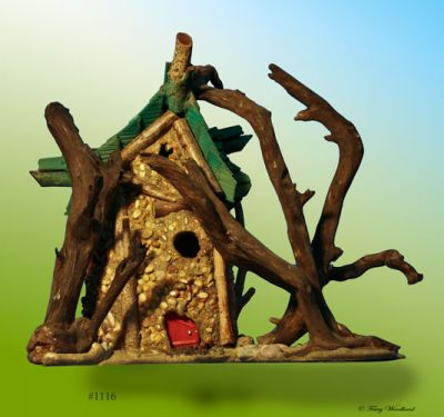 Fairy House Gateway #1116 - The House in the Story Wood in John Crawford originals at Fairy Woodland