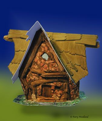 Paper Play Fairy House - West Wind in  at Fairy Woodland