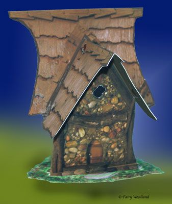 Paper Play Fairy House - Dream Weavers in Paper Play at Fairy Woodland