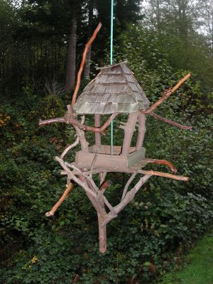 Hanging Bird Barn in  at Fairy Woodland