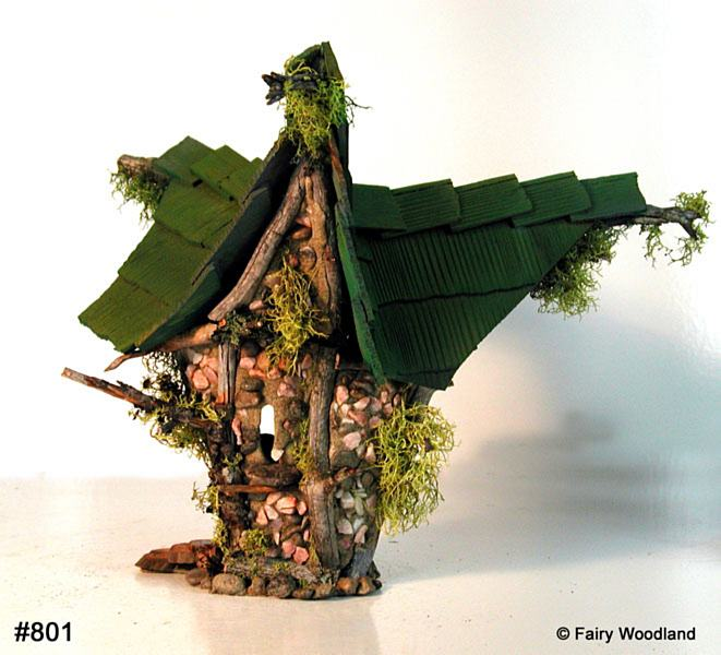 Fairy Houses By Woodland